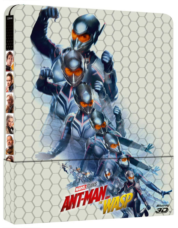 Ant-man And The Wasp (3d) ( Blu-ray 3d+blu-ray ) ( Ltd Steelbook )