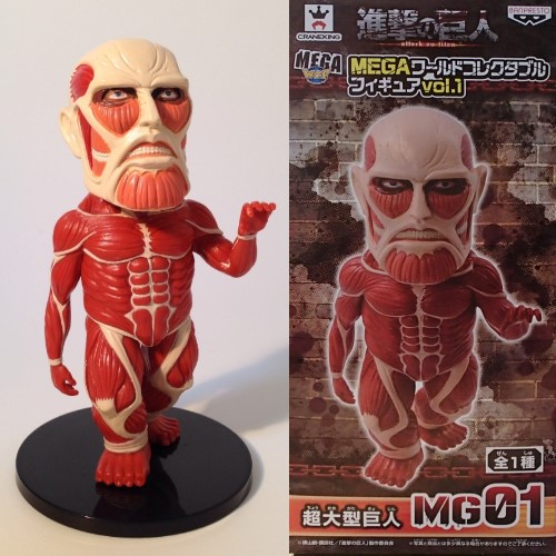 Attack On Titan Colossal Titan Mega