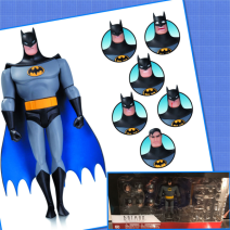 Batman Animated Series Batman Expression Pack