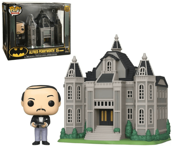 Batman 80th Alfred Pennyworth with Wayne Manor Pop!