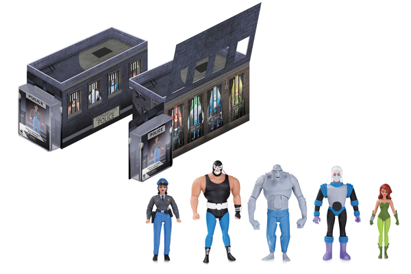 Batman Animated Gcpd Rogues Gallery 5pk