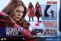 Captain America 12'' Scarlet Witch Cw Af