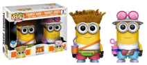 Despicable Me 3 Tourist Dave & Tourist Jerry Pack Pop!