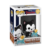 Disney Pinocchio Figaro With Cleo Pop!
