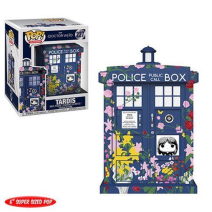 Doctor Who Tardis Clara Memorial Pop!
