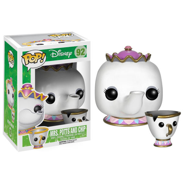 Disney Beauty And The Beast Mrs. Potts And Chip Pop!