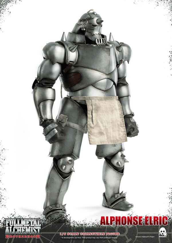 Fullmetal Alchemist Brotherhood Alphonse Elric 1/6 Af