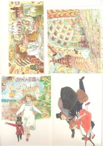 Lo Schiaccianoci Di Hayao Miyazaki - Set Cartoline