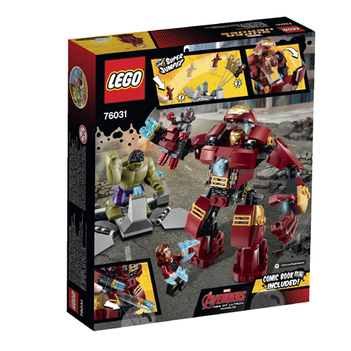 Lego 76031 Marvel Super Heroes Avengers - Attacco Con L'hulkbuster