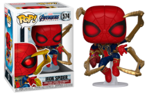 Marvel Avengers Endgame Iron Spider With Nano Gauntlet Pop!