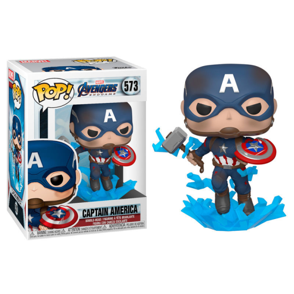 Marvel Avengers Endgame Captain America Pop!