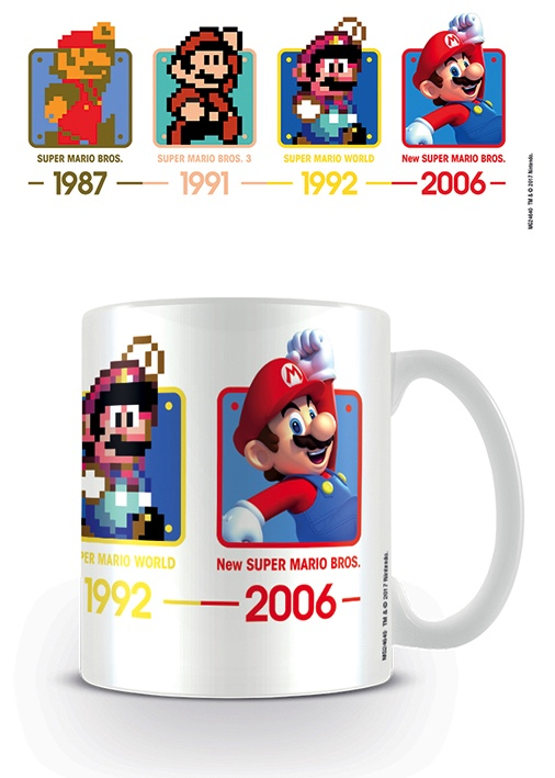 Nintendo Super Mario Dates Tazza