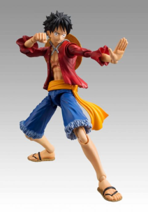 One Piece Monkey D Luffy Variable Action Heroes Action Figure