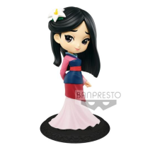 Q Posket Mini Figure Disney Mulan Normal Color Version