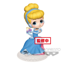 Q Posket Mini Figure Disney Perfumagic Cinderella Normal Version