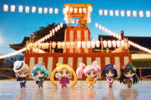 Sailor Moon Petit Chara Soldiers Out Set