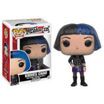 Scott Pilgrim Knives Chau Pop!