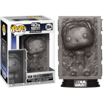 Star Wars 40th Anniversary Empire Strikers Back Han Solo (carbonite) Pop!