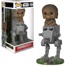 Star Wars Chewbacca With At-st Pop!