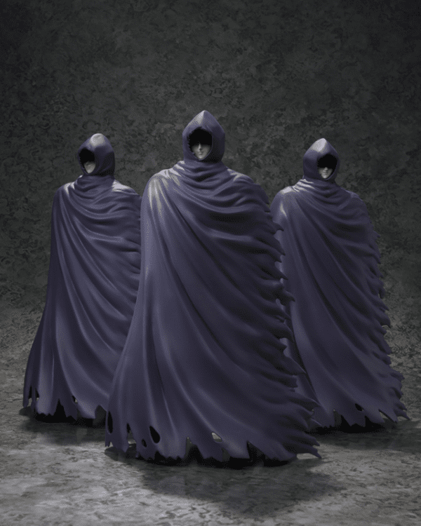 Saint Cloth Mysterious Surplice 3pc Set