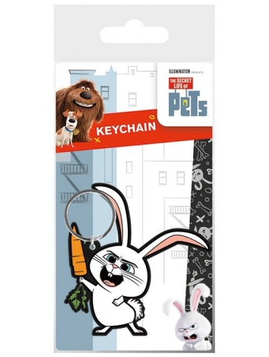 The Secret Life Of Pets Snowball Keychain