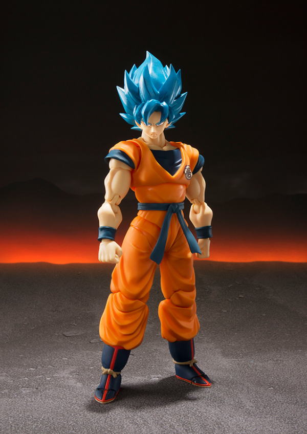 Super Saiyan God Ss Goku Super Shf