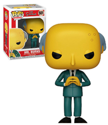 The Simpsons Mr. Burns Pop!