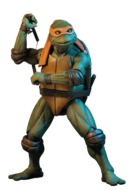 Tmnt 1990 Movie Michelangelo 1/4 Af