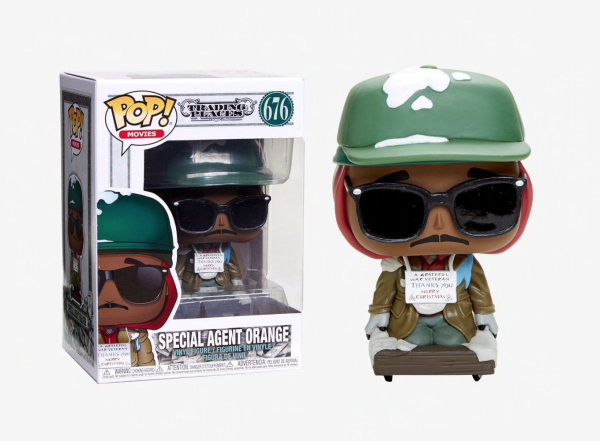 Trading Places Special Agent Orange Pop!