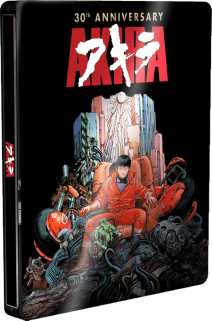 Akira 30th Anniversary Edition Steelbook ( Blu-ray+dvd )