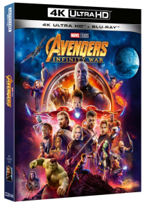 Avengers Infinity War ( Blu-ray 4k Ultra Hd+blu-ray )