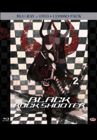 Black Rock Shooter 2 Combo Pack (blu-ray + Dvd)