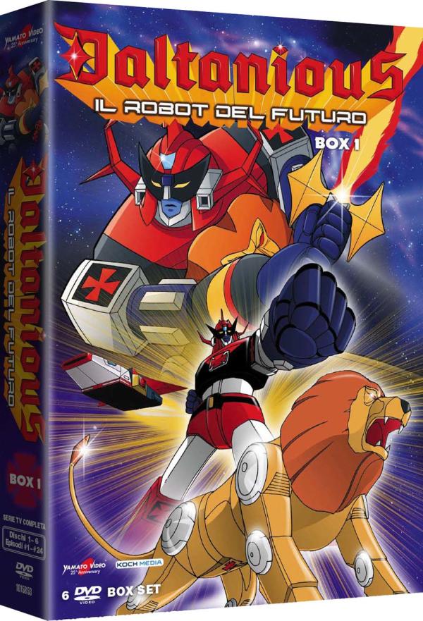 Daltanious Il Robot Del Futuro Box 1 ( 6 Dvd )