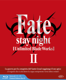 Fate/stay Night Unlimited Blade Works Stagione 02 ( Eps 13-25 ) (3 Blu-ray) ( Limited Edition Box )