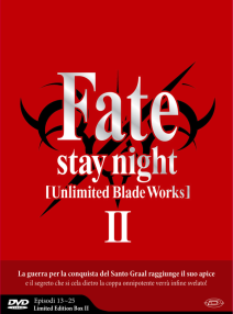 Fate/stay Night Unlimited Blade Works Stagione 02 ( Eps 13-25 ) (3 Dvd) ( Limited Edition Box )