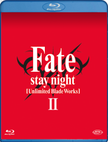 Fate/stay Night Unlimited Blade Works Stagione 02 (eps 13-25) (3 Blu-ray)