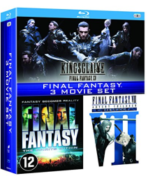 Final Fantasy 3 Movie Collection (3 Blu-ray)