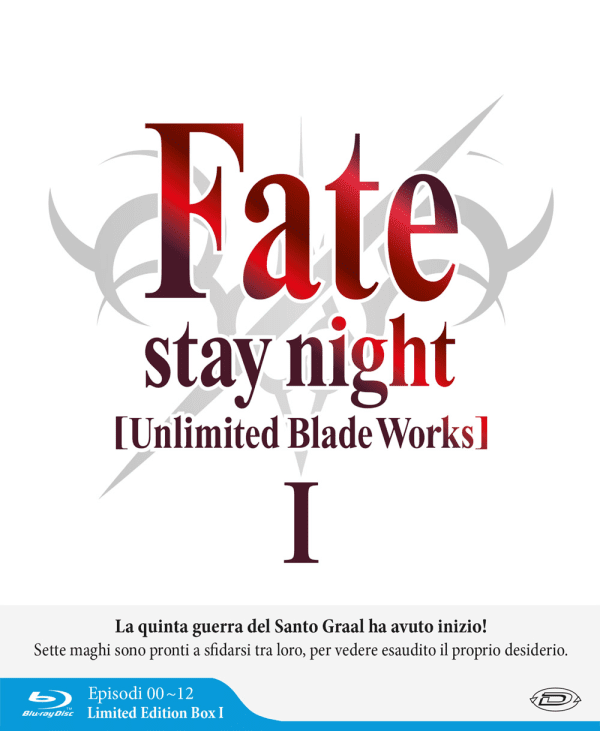 Fate / Stay Night Unlimited Blade Works Stagione 01 ( Eps 00-12 ) (3 Blu-ray) ( Limited Edition Box )