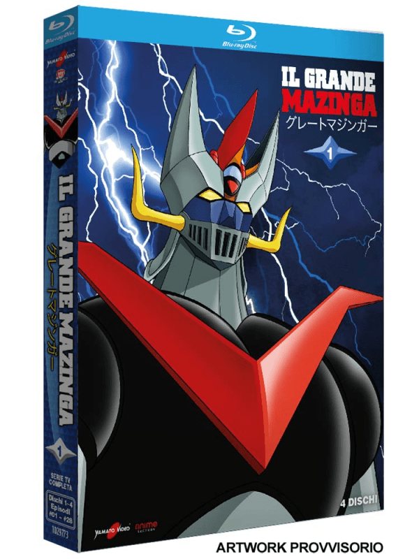 Il Grande Mazinga 01 (4 Blu-ray)