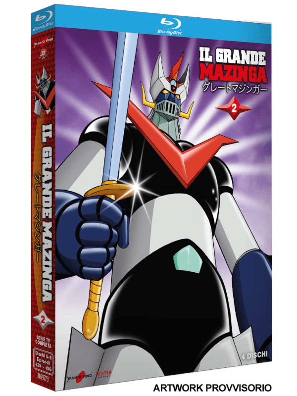 Il Grande Mazinga 02 (3 Blu-ray)