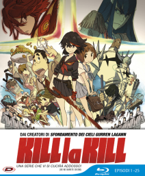 Kill La Kill - Limited Edition (eps 01-25) (5 Blu-ray)