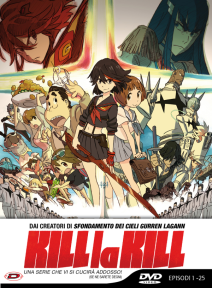 PREORDER - Kill La Kill - Limited Edition (eps 01-25) (5 Dvd)
