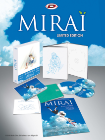 Mirai ( Limited Edition Digipack Box) (2 Blu-ray+ Dvd+2 Booklet+ Card+ Poster)