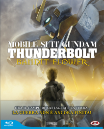 Mobile Suit Gundam Thunderbolt The Movie - Bandit Flower ( First Press ) Blu-ray