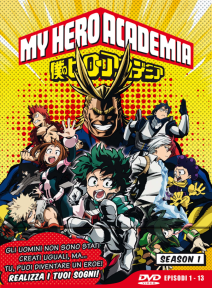 My Hero Academia Stagione 01 ( Eps 01-13 ) Ltd Edition 3 Dvd