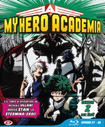 My Hero Academia Stagione 02 Box 2 Eps 27-38 Ltd Edition 3 Blu-Ray