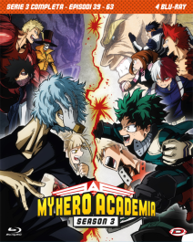 My Hero Academia Stagione 03 The Complete Series Eps 39-63 - 4 Blu-ray