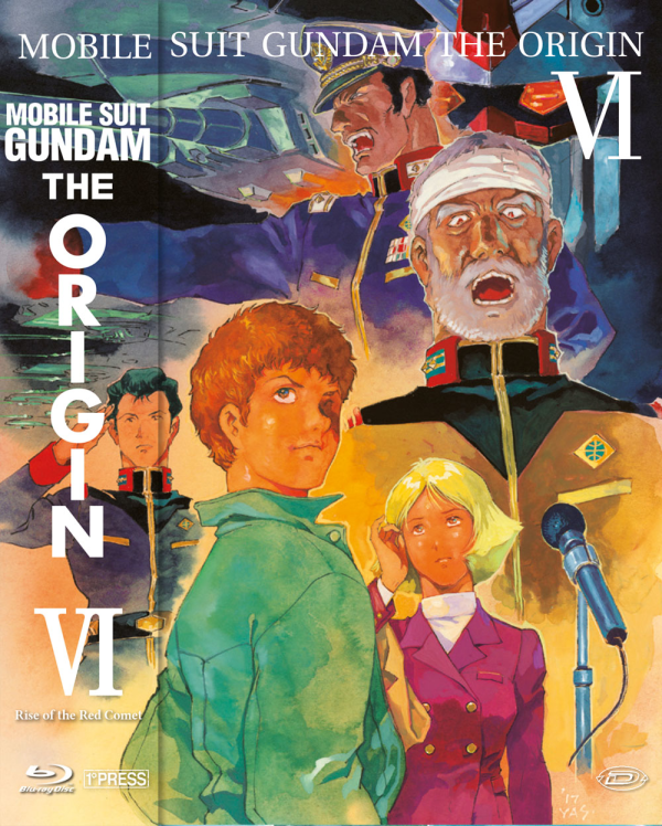 Mobile Suit Gundam The Origin Vi Rise Of The Red Comet ( First Press )