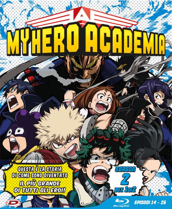 My Hero Academia Stagione 02 Box 1 Eps 14-26 Ltd Edition 3 Blu-ray