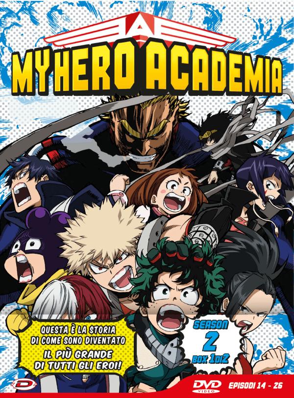 My Hero Academia Stagione 02 Box 1 Eps 14-26 Ltd Edition 3 Dvd